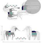 unicorni-autocolant-decorativ-de-perete-unicorns-wall-sticker-1