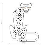 ghepard-autocolant-decorativ-de-perete-cheetah-wall-sticker-01