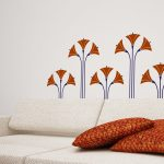 lotus-flori-autocolant-decorativ-de-perete-lotus-flowers-wall-sticker-04